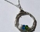 Custom Family Jewelry: Mini-Nest Necklace
