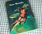 SALE new worlds, vintage 1967 children's school reader