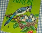 the wonder book of birds, vintage 1974 children's book