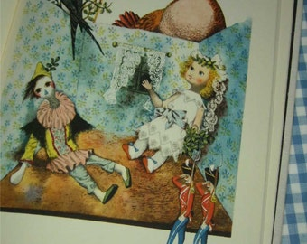 SALE hans christian andersen's fairy tales, vintage 1960s children's book