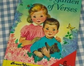 a child's garden of verses, vintage 1980 children's book