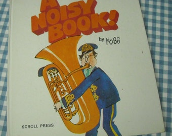 the noisy book, vintage 1971 children's book