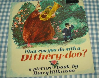 what can you do with a dithery-doo, vintage 1974 children's book