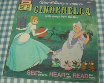 cinderella, vintage 1977 children's book