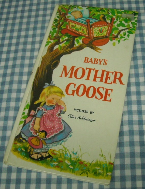 baby's mother goose, vintage 1980s children's book
