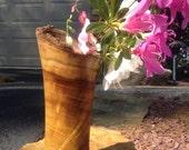 Vase - Hand Turned Mulberry - Live Edge