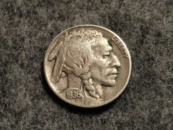 1936 Buffalo Nickel- Nice.