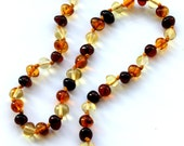 NATURAL BALTIC AMBER Premium Quality  Baby Teething Necklace