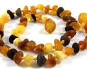 Raw Maximum Effective Baby Teething BALTIC AMBER Necklace