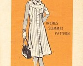 1974 Printed Sewing Pattern Mail Order 4630 Misses dress size 12.5
