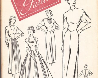 "1940's Sewing Pattern Woman's Day 3099 ""one pattern wardrobe"" size 14 FREE SHIPPING"
