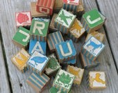Vintage Childs Blocks