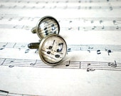 Vintage Sheet Music Cufflinks