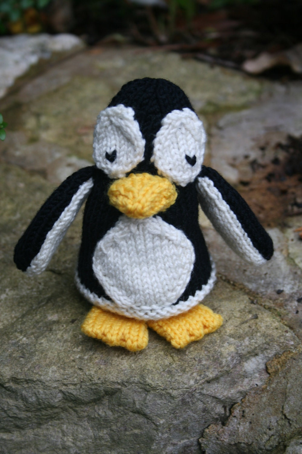 Knitting Lady Penguins : Knitting pdf pattern perceval and peppy penguin cute
