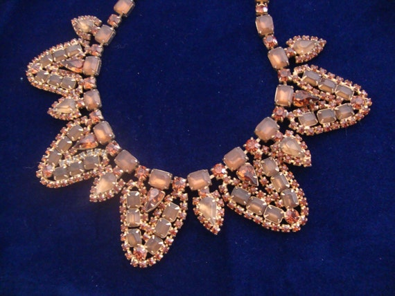 Reserved for Adrienne-Massive Rhinestone Statement Necklace