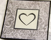 Masculine Valentine Cards Hand Embroidered cards (your choice)