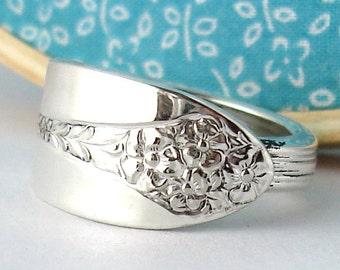 Silver Spoon Ring, size 12, Princess Royal 1940
