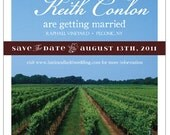 A Vineyard Save The Date