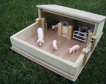 Wooden Hog/Pig Shed