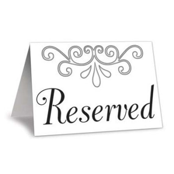 Reserved order for Mandy..