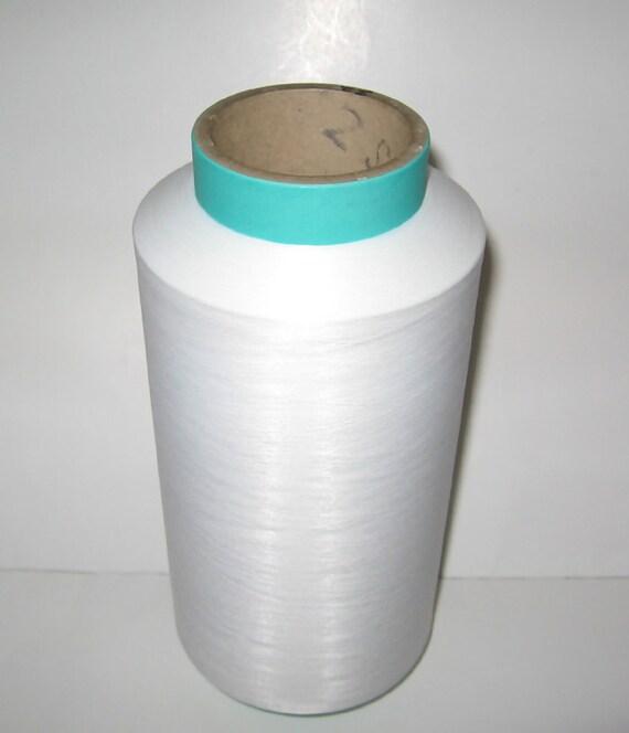 4lbs Cone of Lycra Nylon Yarn Fiber Thread Machine Knitting