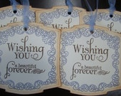 Victorian Inspired Wedding Gift/Wish Tree Tags