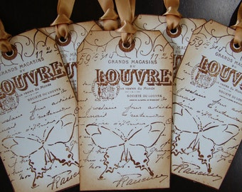 Louvre - Parisian Inspired Gift Tags
