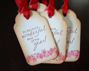 It's The Most Wonderful Time Of The Year - Gift Tags