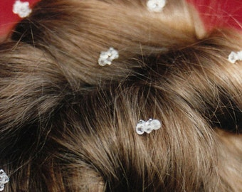 Twinkle little star - Swarovski crystal hair pins - Bridal crystal hair pins, Swarovski hair pins, Sparkly crystal pins, includes 10 pieces