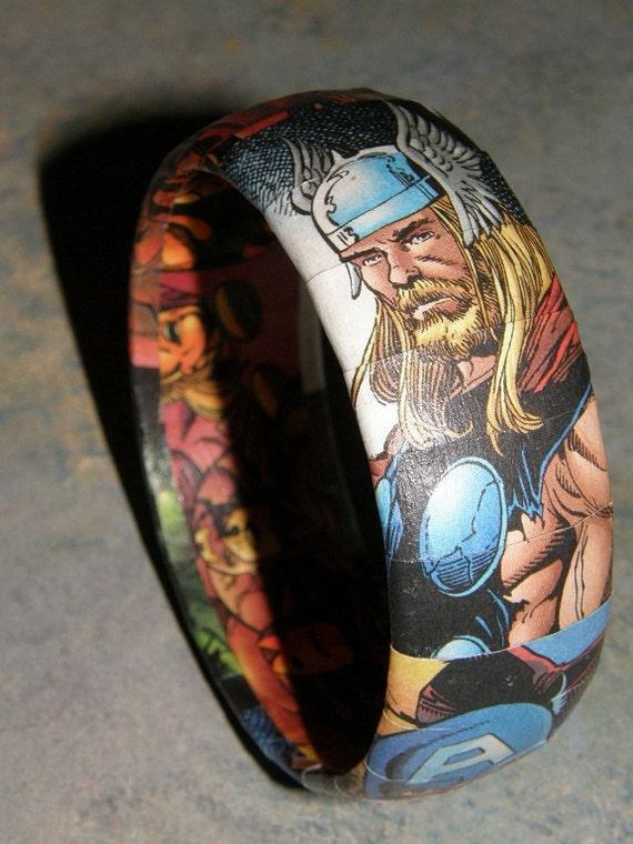 Avengers Comic Book Bracelet