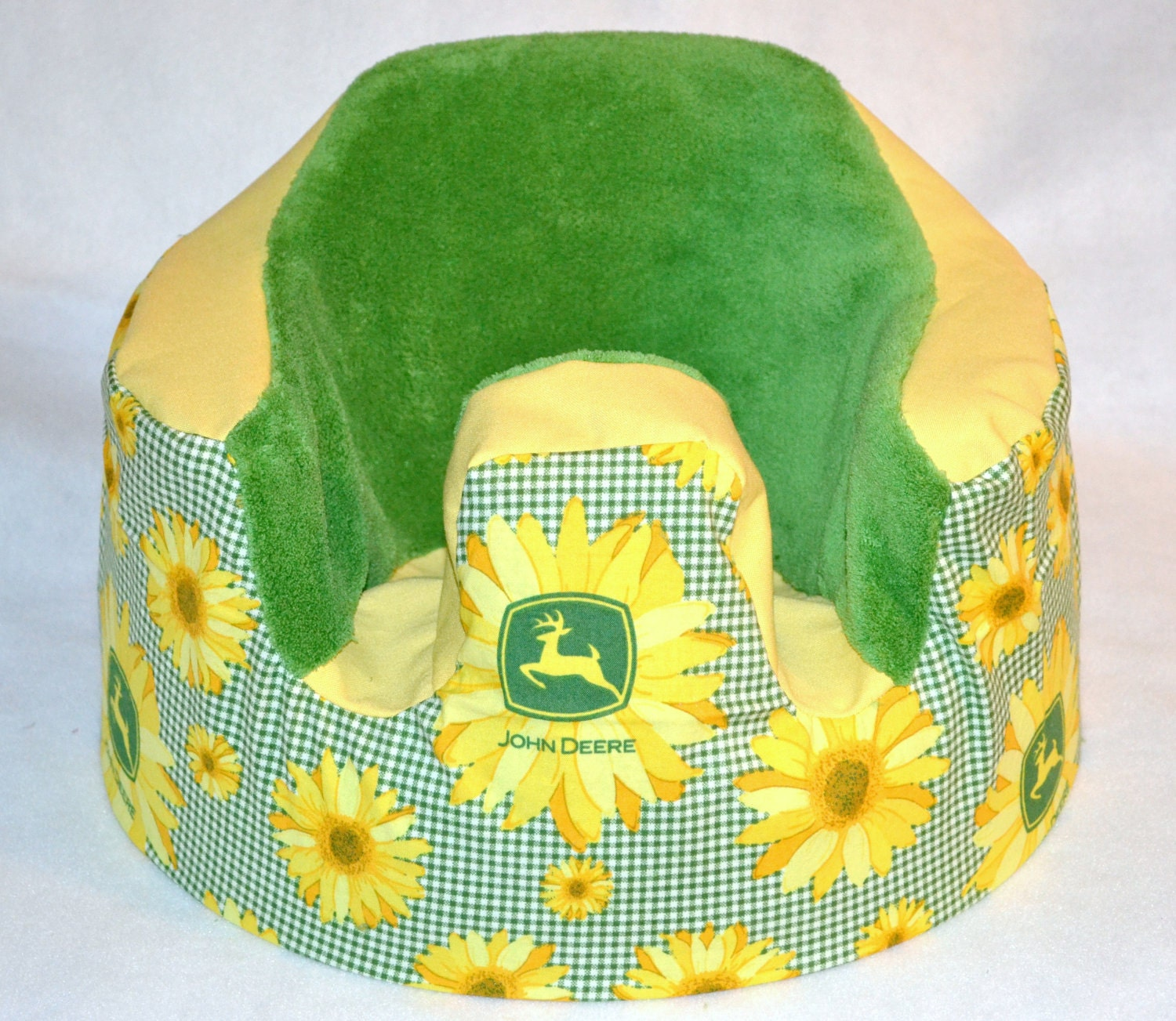 john deere sunflower baby seat cover. Black Bedroom Furniture Sets. Home Design Ideas