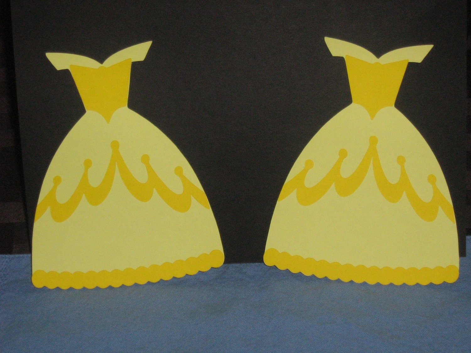 Princess Belle Beauty and the Beast dress for banner