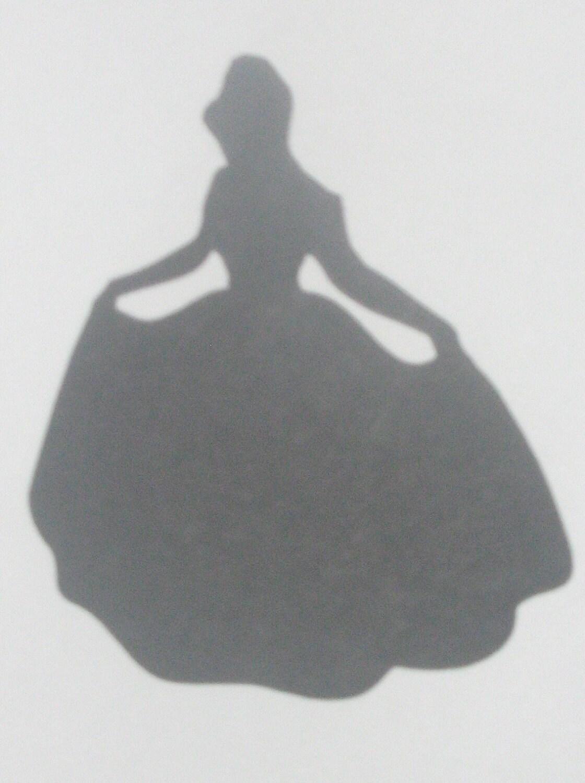Wedding silhouette Disney Princess by ThePaperdollPrincess ...