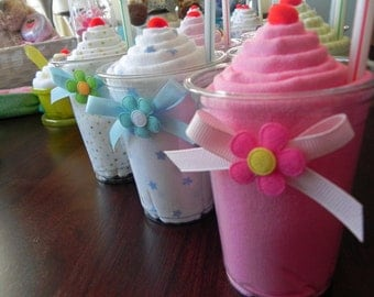 Receiving Blanket Milkshake - Unique Baby Shower Gifts and Favors