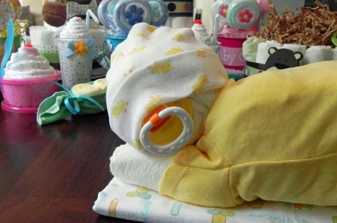 Diaper Sleeping Baby Instructions