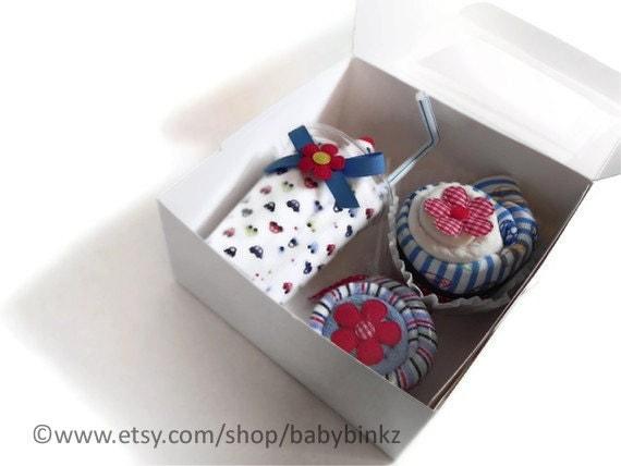 Baby Blanket Gift Box : Baby shower gift box combo receiving blanket milkshake