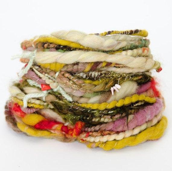 24 Yards, Beaded Art Yarn - 2.25 oz / 63 g - FREE SHIPPING in the US