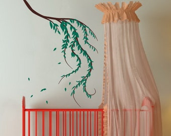 Wall Decal Weeping Willow Branch  22088