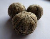 "Jasmine and Chrysanthemum Tea Blossom - ""Seven Golden Fairies"" (3 Blossoms)"