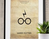 Harry Potter Memorable Quote Vintage 11X17 Poster Print