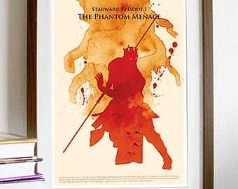 Star Wars: Episode I The Phantom Menace - Poster Print