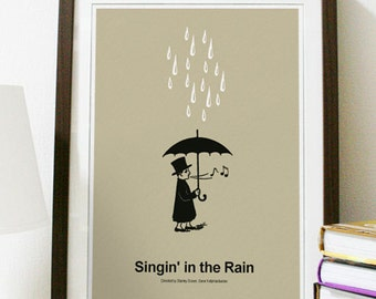 Singing In The Rain - Classic Movie Poster Print