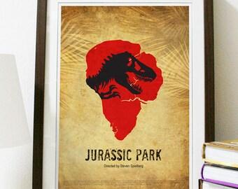 Jurassic Park Movie Poster Print