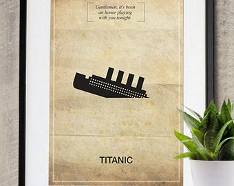 Titanic Memorable Quote Vintage Movie Poster Print