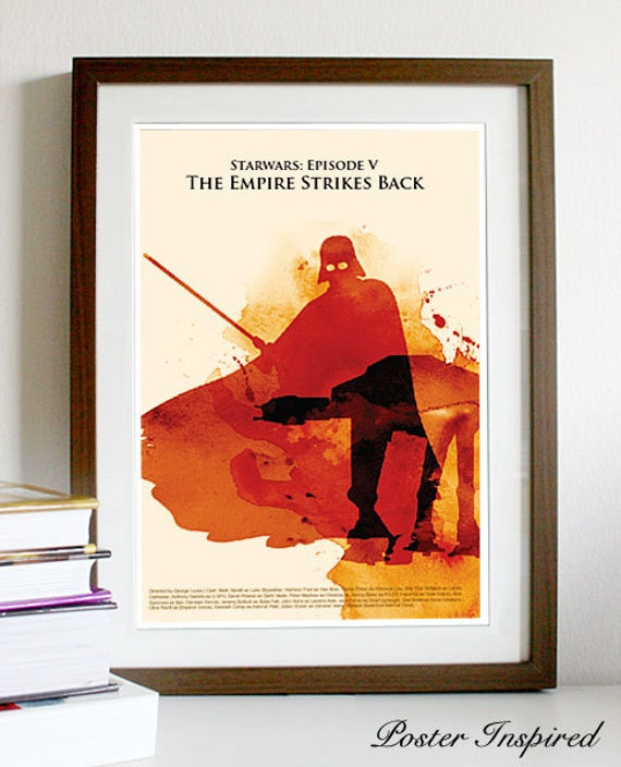 Star Wars: Episode The Empire Strikes Back - Poster Print