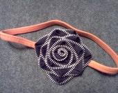 Halloween Zipper Flower