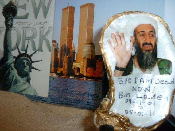 Bin Laden dead on a Oyster Shell