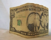 Vintage Collectible Bank Roll of Money