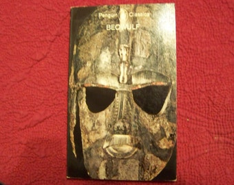 Vintage Beowulf Paperback Book Cool Cover 1964