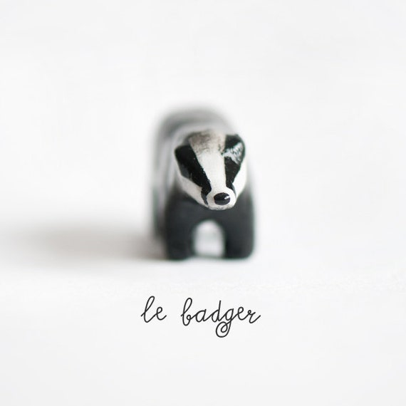 Le Persistent Badger Totem - Made to Order